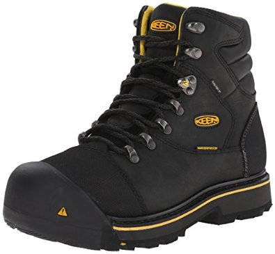 Keen safety toe work boot
