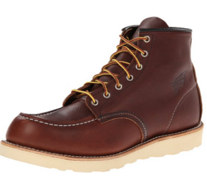 "Red Wing Heritage Men's 6"" Classic Moc Toe Boot"