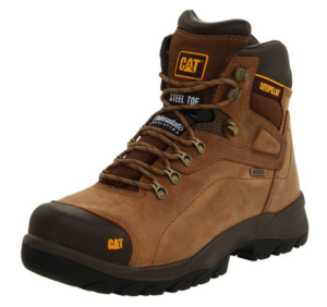 Cat safety toe work boot