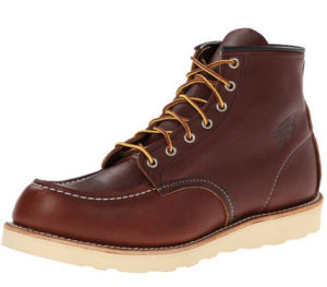 Red wing top work boot