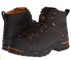 Timberland work boot lead the way