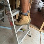 Electrical hazard work boots
