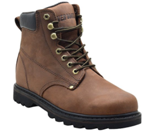 """EVER BOOTS """"Tank"""" Men's Soft Toe Oil Full Grain Leather Insulated Work Boots"""