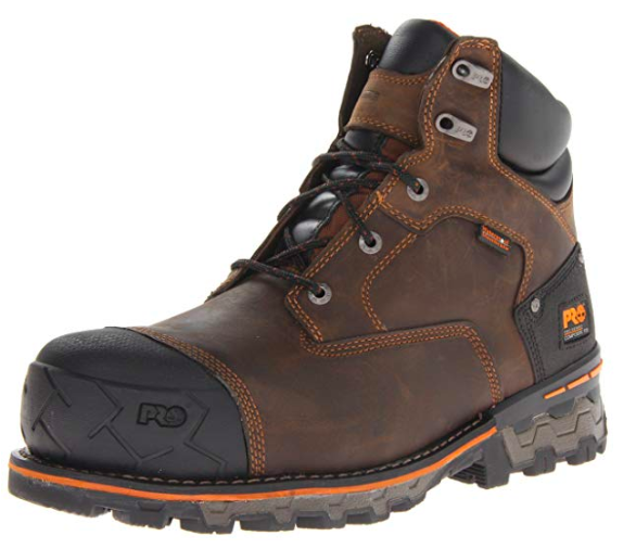 Timberland leather, waterproof work shoe
