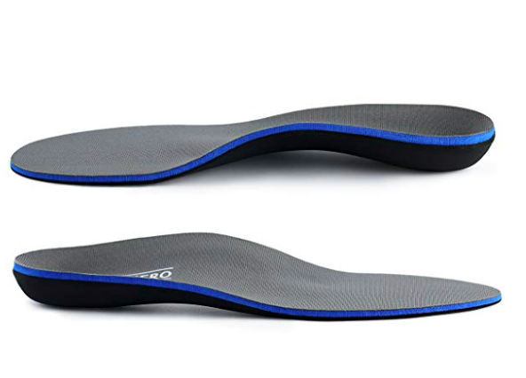 walk hero black and blue work shoe insoles